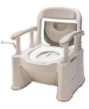 ポータブルトイレ座楽 背もたれ型SP